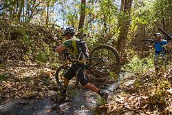 Alvaro Gutierrez - Hike-a-Bike over a creek<br /> Masciota, Mexico