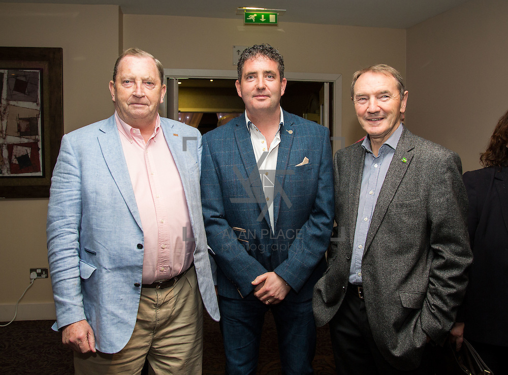 11.10.2016         <br /> Pictured at the Grand Final of the Limerick Going for Gold 2016 Awards were, Declan Moylan, Rory Moylan and Eamon Mellett, Martinstown. Picture: Alan Place