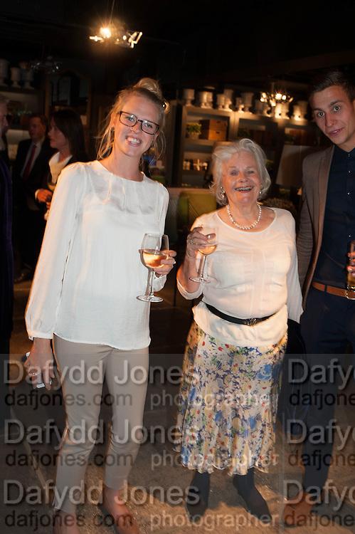 EMILY JOHNSON; MARIGOLD JOHNSON, The launch of Nicky Haslam for Oka. Oka, 155-167 Fulham Rd. London SW3. 18 September 2013.