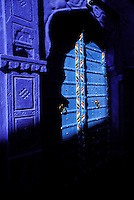 Inde, Rajasthan, Jodhpur la ville bleue. // India, Rajasthan, Jodhpur the blue city.