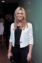TINA HOBLEY at a party to celebrate the announcement of the 20 shortlisted designers for the UK final of the Triumph Inspiration Award 2011 held at the home of Charlotte Stockdale, 8 Francis Street, London SW1 on 31st March 2011.