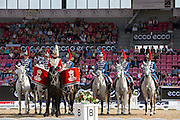 Royal Horse Garde<br /> FEI European Championships 2013<br /> © DigiShots