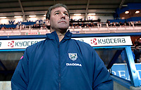 Photo: Daniel Hambury.<br />Reading v West Bromwich Albion. The FA Cup. 17/01/2006.<br />West Brom's manager Bryan Robson.