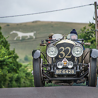 William Medcalf and Dan Harrison in their Bentley 4½ Litre  on the Royal Automobile Club 1000 Mile Trial 2015