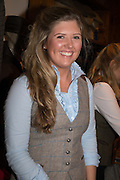 SERENA CUNNINGHAM-JARDINE, Tatler and Dubarry host an evening with Clare Balding, Dubarry of Ireland, 34 Duke of York's Sq. London. 13 October 2016.