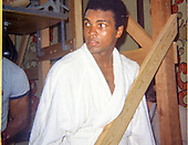 1973 Muhammed Ali in training Exclusive