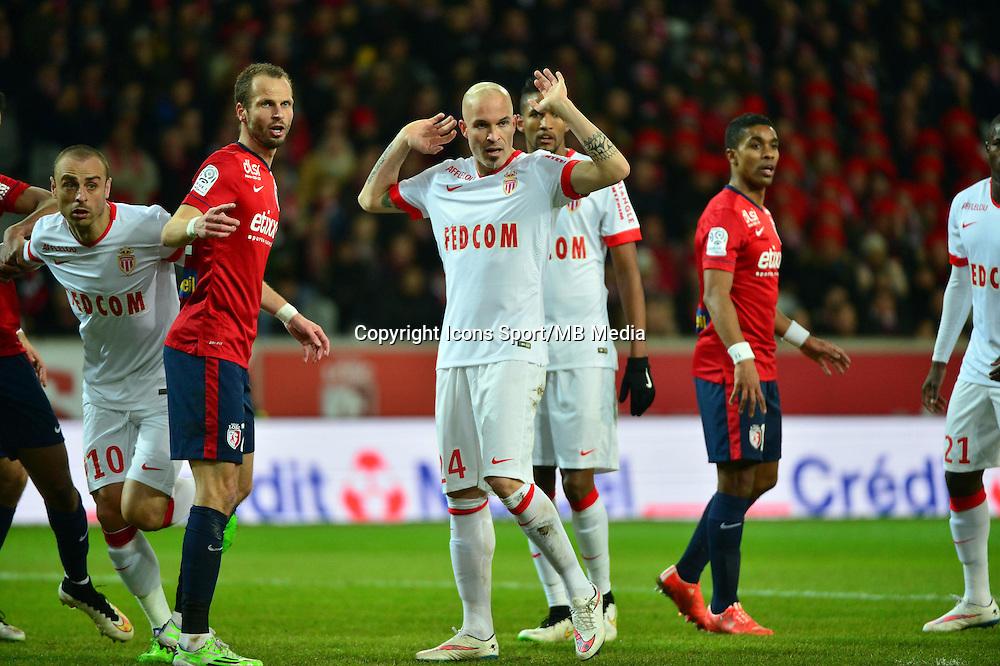Andrea RAGGI  - 24.01.2015 - Lille / Monaco - 22eme journee de Ligue1<br />Photo : Dave Winter / Icon Sport