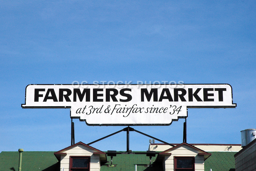 Farmers Market at 3rd & Fairfax in Los Angeles
