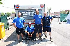 20120619 TERREMOTO NEL FERRARESE- CAMPO ACCOGLIENZA A VIGARANO MAINARDA