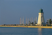 Historic lighthouse and pier on Lake Ontario<br /> Ste. Catharines<br /> Ontario<br /> Canada