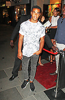 Lucien Laviscount, The BIG Party, Amika Mayfair, London UK, 16 July 2013, (Photo by Brett Cove)