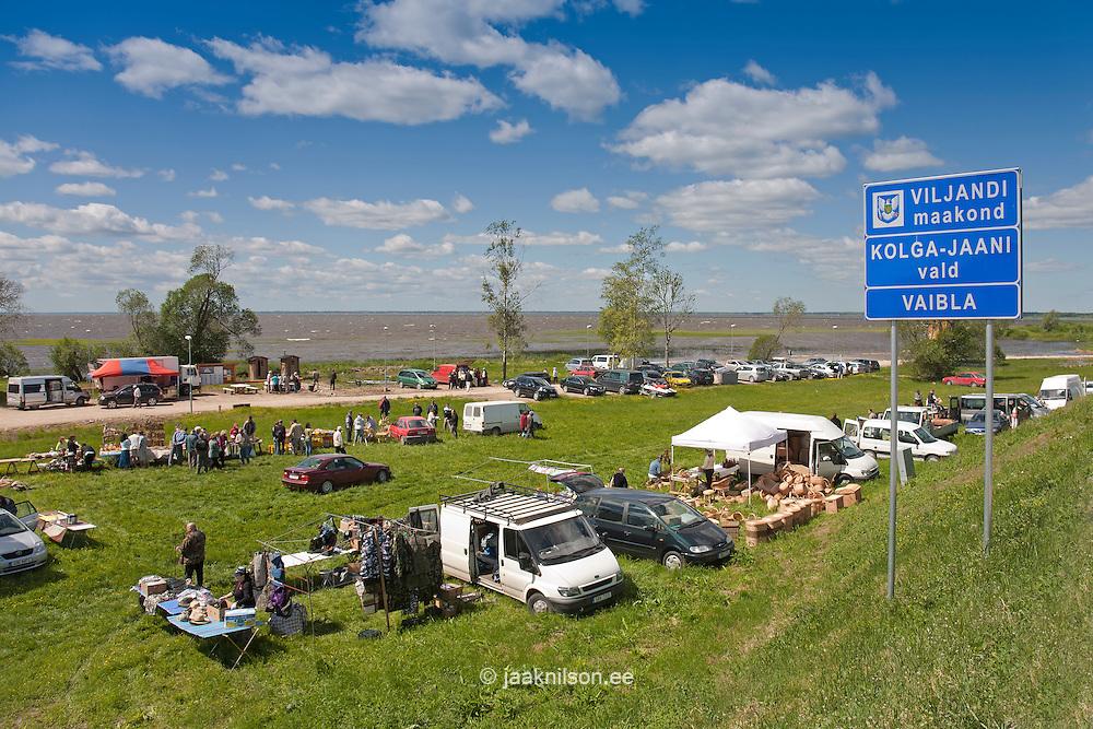Fair, Lake Võrtsjärv, Tartu County, Estonia, Europe