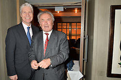 Left to right, RICHARD KAY and PETER McKAY at the 3rd birthday party for Spectator Life magazine hosted by Andrew Neil and Olivia Cole held at the Belgraves Hotel, 20 Chesham Place, London on 31st March 2015.