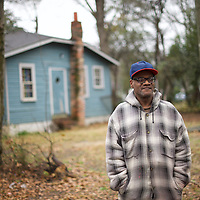 SUMTER, SOUTH CAROLINA: Greg Hill, 57, a house painter, supports Hillary Clinton.  Hill says, 'If she does anything like her husband then she's good... Hillary is definitely going to help the African Americans, especially in this justice system. All these cops are shooting us like animals. Hillary is someone who will investigate. There will be some kind of justice. She's been there long enough and knows what to say, without worrying about what to say.'