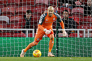 Middlesbrough goalkeeper Darren Randolph (23)  during the EFL Sky Bet Championship match between Middlesbrough and Ipswich Town at the Riverside Stadium, Middlesbrough, England on 29 December 2018.