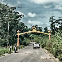 19/11/2014.Nzerekore. Guinee Conakry.<br /> Vue de Nzerekore. &copy;Sylvain Cherkaoui/Cosmos pour Alima