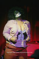 """Performer Tangerine Jones performing at Rose Live Music in Brooklyn for the show """"So You Think You Can Weimar?"""" at the venue on Sunday July 8,2007..."""
