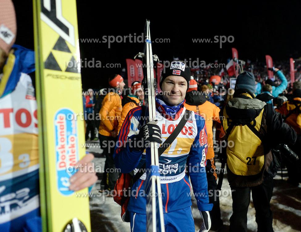 17.01.2015, Wielka Krokiew, Zakopane, POL, FIS Weltcup Ski Sprung, Zakopane, Herren, Teamspringen, im Bild Anders Jacobsen // during mens Large Hill Team competition of FIS Ski Jumping world cup at the Wielka Krokiew in Zakopane, Poland on 2015/01/17. EXPA Pictures &copy; 2015, PhotoCredit: EXPA/ Newspix/ Irek Dorozanski<br /> <br /> *****ATTENTION - for AUT, SLO, CRO, SRB, BIH, MAZ, TUR, SUI, SWE only*****