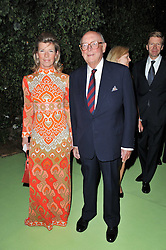 CHRISTOPHER SHAW and ELIZA DRAX at a dinner hosted by Cartier in celebration of the Chelsea Flower Show held at Battersea Power Station, 188 Kirtling Street, London SW8 on 23rd May 2011.