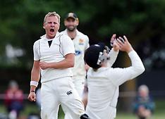 Gisborne-Cricket, Zimbabwe v New Zealand XI, day 2