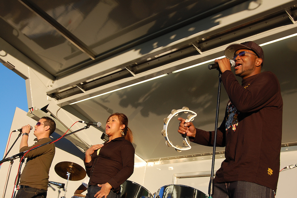 One Kingdom Image in concert at the Harambee Festival in Tucson, Arizona. Event photography by Martha Retallick.