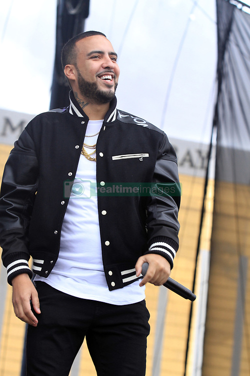 French Montana during the iHeartRadio Music Festival at the T-Mobile Arena in Las Vegas, Nevada