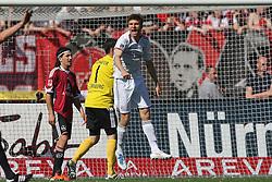 09.04.2011, easy Credit Stadion, Nuernberg, GER, 1 FC Nuernberg vs FC Bayern Muenchen, im Bild:  Thomas Mueller (Muenchen #25) macht das 0:1 und jubelt EXPA Pictures © 2011, PhotoCredit: EXPA/ nph/  news       ****** out of GER / SWE / CRO  / BEL ******