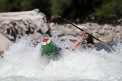 Roberto COLAZINGARI of Italy during the Canoe Single (C1) Men iFinal race of 2019 ICF Canoe Slalom World Cup 4, on June 28, 2019 in Tacen, Ljubljana, Slovenia. Photo by Sasa Pahic Szabo / Sportida