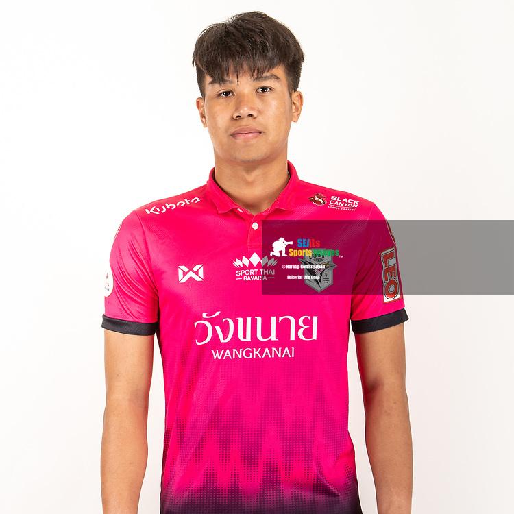 THAILAND - JUNE 06: Kritsawat Kongkot #26 of Chainat Hornbill FC on June 06, 2019.<br /> .<br /> .<br /> .<br /> (Photo by: Naratip Golf Srisupab/SEALs Sports Images/MB Media Solutions)