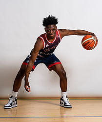 Marvin Dinnall on the Bristol Flyers Media Day - Rogan/JMP - 27/11/2019 - BASKETBALL - SGS Wise Arena - Bristol, England.