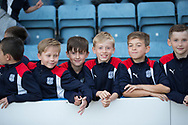 Dundee FC academy kids - Dundee v Inverness Caledonian Thistle in the Ladbrokes Scottish Premiership at Dens Park, Dundee, Photo: David Young<br /> <br />  - &copy; David Young - www.davidyoungphoto.co.uk - email: davidyoungphoto@gmail.com