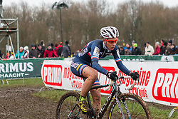 Lucie Chainel-Lefevre (FRA) Women, Cyclo-cross World Cup Hoogerheide, The Netherlands, 25 January 2015, Photo by Pim Nijland / PelotonPhotos.com
