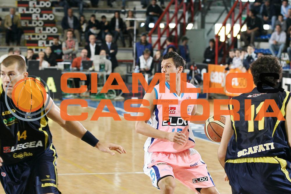 DESCRIZIONE : Napoli Lega A1 2007-08 Eldo Napoli Legea Scafati<br /> GIOCATORE : Janis Blums<br /> SQUADRA : Eldo Napoli<br /> EVENTO : Campionato Lega A1 2007-2008 <br /> GARA : Eldo Napoli Legea Scafati<br /> DATA : 12/04/2008<br /> CATEGORIA : Palleggio<br /> SPORT : Pallacanestro <br /> AUTORE : Agenzia Ciamillo-Castoria/A.De Lise