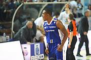 DESCRIZIONE : Cremona Lega A 2013-2014 Vanoli Cremona Pallacanestro Cantu<br /> GIOCATORE : Michael Jenkins<br /> SQUADRA : Pallacanestro Cantu<br /> EVENTO : Campionato Lega A 2013-2014<br /> GARA : Vanoli Cremona Pallacanestro Cantu<br /> DATA : 17/11/2013<br /> CATEGORIA : Ritratto Esultanza<br /> SPORT : Pallacanestro<br /> AUTORE : Agenzia Ciamillo-Castoria/F.Zovadelli<br /> GALLERIA : Lega Basket A 2013-2014<br /> FOTONOTIZIA : Cremona Campionato Italiano Lega A 2013-14 Vanoli Cremona Pallacanestro Cantu<br /> PREDEFINITA :