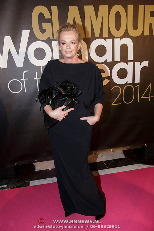 NLD/Amsterdam/20141215- Glamour Woman of the Year 2014, Karin Kuipers