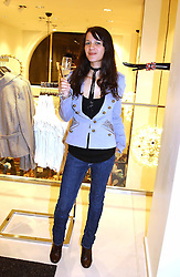 LISA MOORISH at a party to celebrate the opening of the new H&M Flagship Store at 17-21 Brompton Road, London SW3 on 23rd March 2005.<br /><br />NON EXCLUSIVE - WORLD RIGHTS