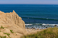 Cliffs, Camp Hero State Park, Montauk, NY