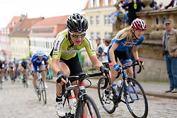 Hanna Solovey (Parkhotel Valkenburg) at Thüringen Rundfarht 2016 - Stage 1 a 67km road race starting and finishing in Gotha, Germany on 15th July 2016.