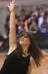 Plesalka Kaja Dolinar (Zmajcice) na Dnevu slovenske moske kosarke, 26. decembra 2008, na Planini, Kranj, Slovenija. (Photo by Vid Ponikvar / Sportida)