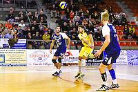 Robin TOSATTO / Theo MORILLON  - 19.12.2014 - Beauvais / Saint Nazaire - 12e journee de Ligue A<br />Photo : Fred Porcu / Icon Sport