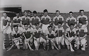 Wexford-All-Ireland Hurling Champions 1956. Back Row: Billy Rackard, Nick O'Donnell, Ned Wheeler, Jim Morrissey, Martin Codd, Nicky Rackard, Padge Kehoe, Bobby Rackard. Front Row: Tom Ryan, Mick Morrissey, Jim English (capt), Art Foley, Tim Flood, Tom Dixon, Seamus Hearne.