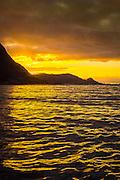 Sunset over Hidsneset, Norway   Solnedgang over Hidsneset