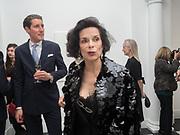 BAINCA JAGGER, Opening of Galerie Thaddaeus Ropac London, Ely House, 37 Dover Street.. Mayfair. London. 26 April 2017.