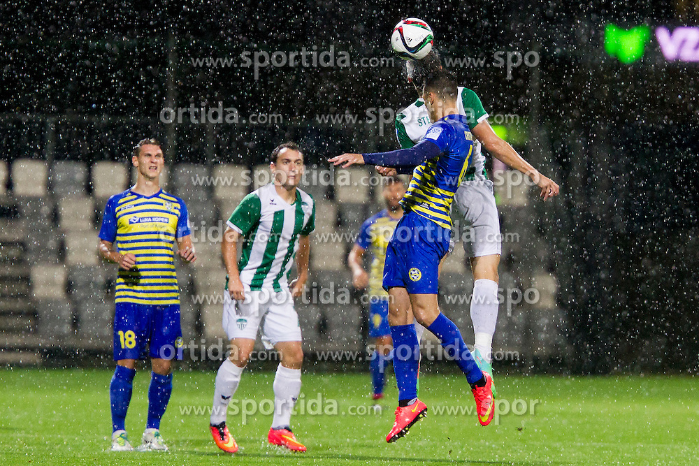 Cristian Tomas Del Toro #6 of FC Luka Koper during football match between FC Luka Koper and NK Krsko in 11th Round of Prva liga Telekom Slovenije 2015/16, on September 23, 2015 in Bonifika, Koper, Slovenia. Photo by Urban Urbanc / Sportida