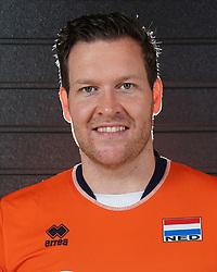 07-10-2017 NED: Portret zitvolleybalteam Oranje mannen 2017-2018, Doorn<br /> Nederland bereidt zich voor op het komende EK zitvolleybal / Bjorn Moris