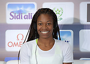 Phyllis Francis (USA) at an IAAF Diamond League press conference prior to the  Meeting International Mohammed VI d'Athletisme de Rabat 2019, Saturday, June 15, 2019, in Rabat, Morocco. (Image of Sport)