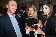 KEITH COVENTRY; IWONA BLAZWICK; WHITNEY HINTZ, Dinner to celebrate the opening of Pace London at  members club 6 Burlington Gdns. The dinner followed the Private View of the exhibition Rothko/Sugimoto: Dark Paintings and Seascapes.
