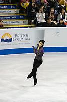 KELOWNA, BC - OCTOBER 26: Japanese figure skater Yuzuru Hanyu competes during the men's long program / free skate of Skate Canada International held at Prospera Place on October 26, 2019 in Kelowna, Canada. (Photo by Marissa Baecker/Shoot the Breeze)