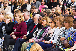 Members of the cabinet, shadow cabinet and other VIPs .<br /> A statue designed by Turner Prize-winning artist Gillian Wearing OBE of suffragist leader Millicent Fawcett is unveiled in Parliament Square by XXXX. The sculpture is the first-ever monument to a woman and the first designed by a woman to stand within the square and follows the successful campaign by feminist campaigner Caroline Criado-Perez who organised an 85,000 signature petition. London, April 24 2018.