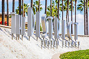 The District Tustin Legacy Metal Signage